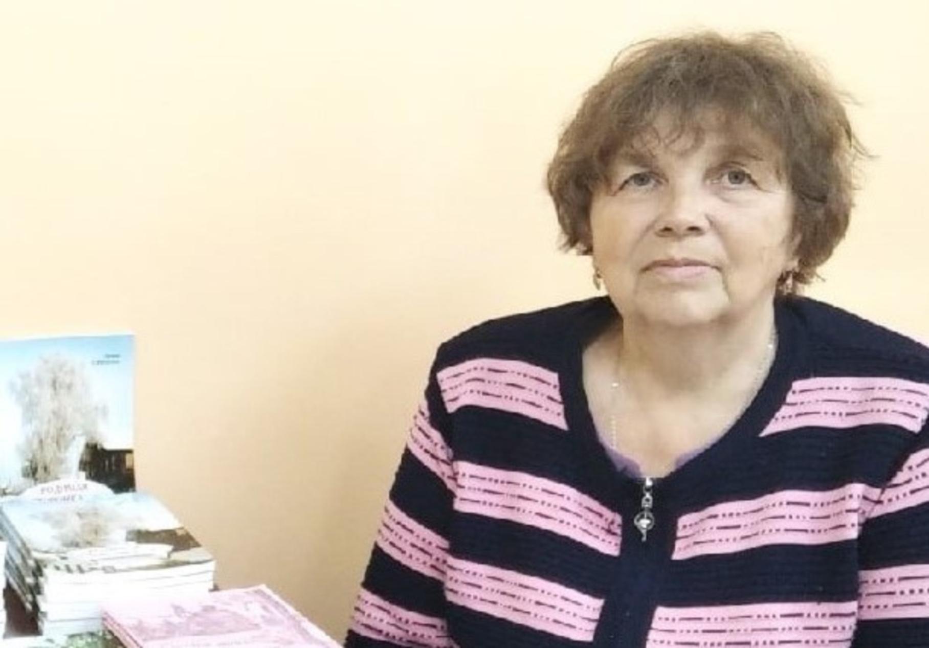 Встреча с писательницей Лилией Синцовой состоялась в Заостровье Виноградовского района
