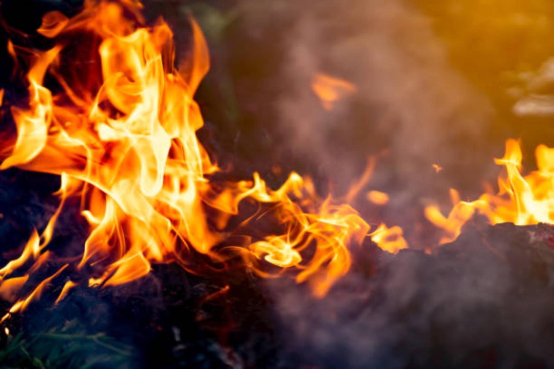 В Лешуконском горел продуктовый магазин