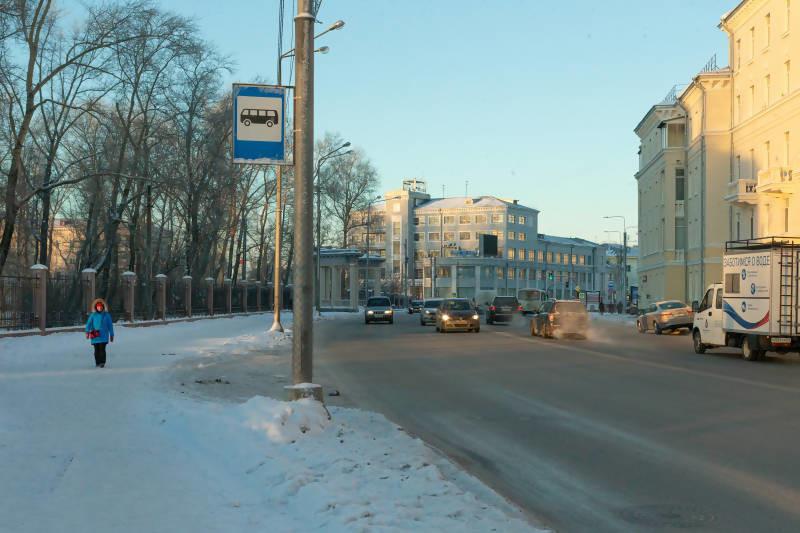 Убирать улицы Архангельска будет Мезенское дорожное управление