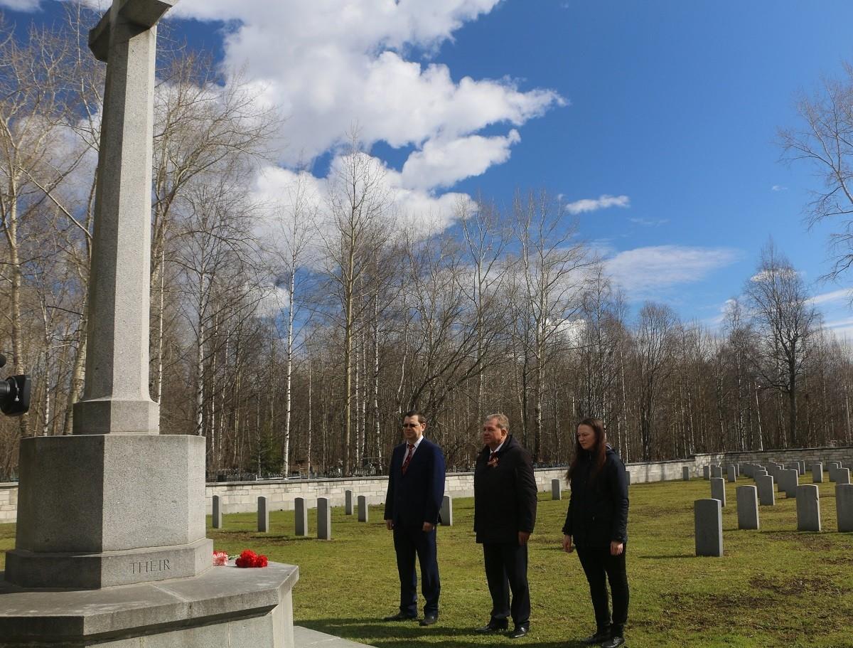 В Архангельске почтили память британских союзников