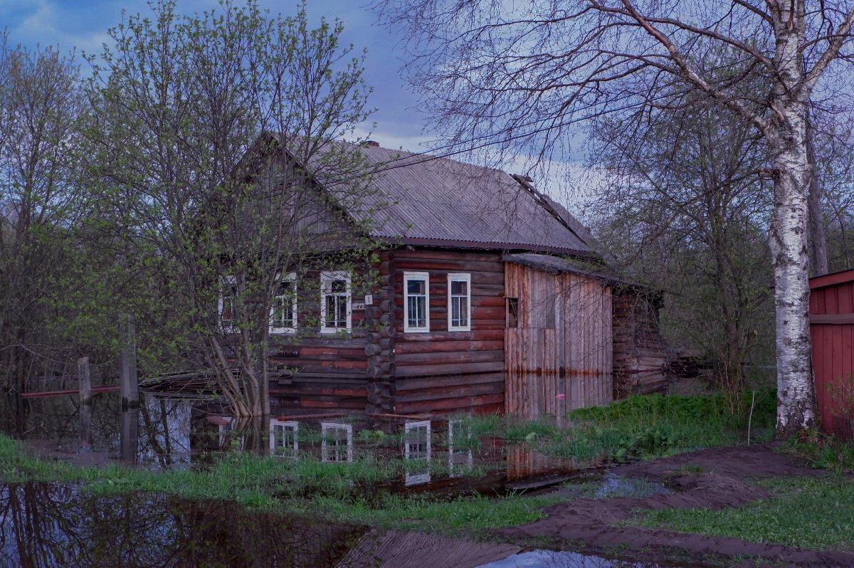 Подтопление в Сольвычегодске - фото