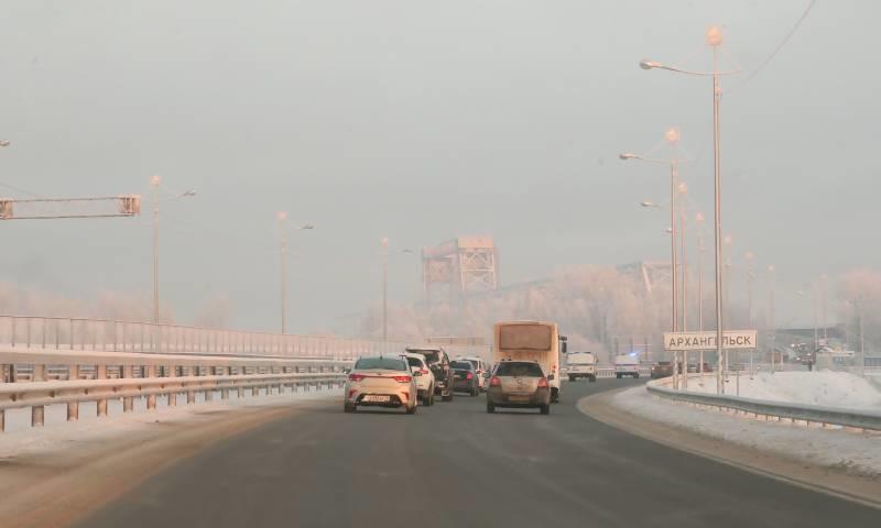 Северодвинский мост снова закрывают на ремонт