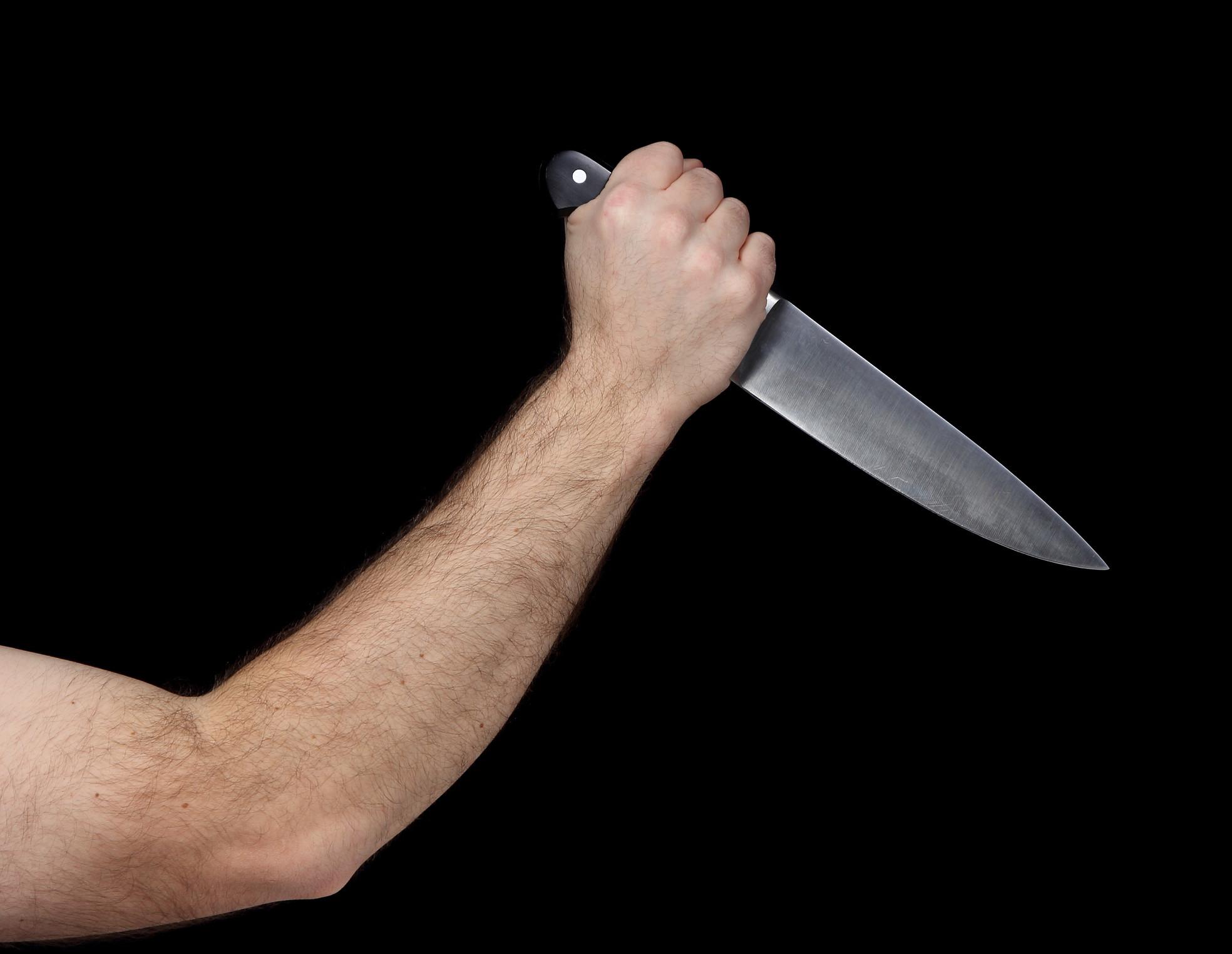 Разгневанный архангелогородец набросился с ножом на собутыльников