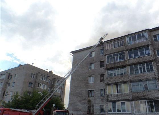 В Новодвинске горела коммунальная квартира