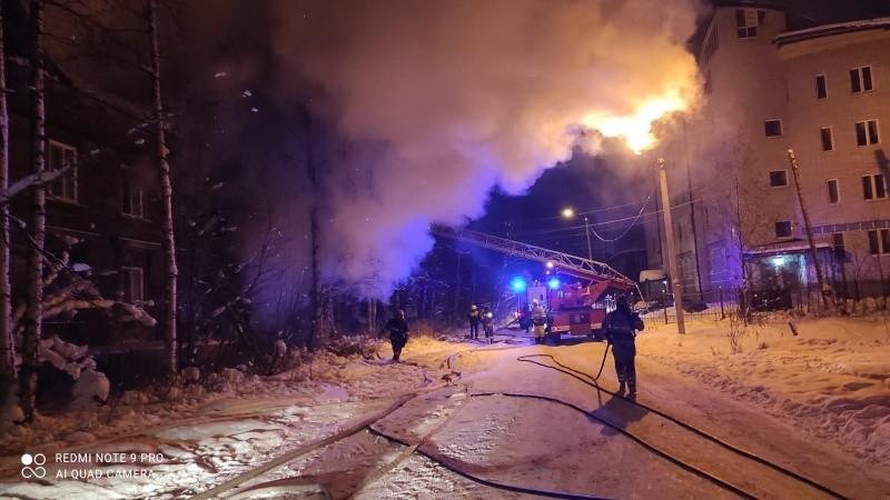 В Архангельске пироман, поджигавший дома, снова взялся за дело