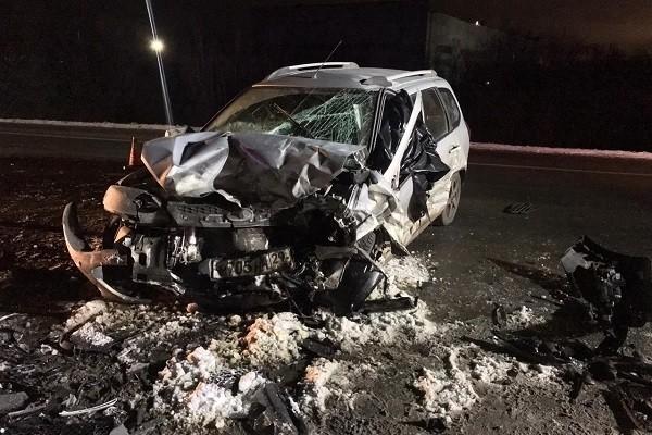 В ДТП на трассе Архангельск-Северодвинск погибла женщина